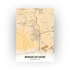 Bergen op Zoom print - Antiek stijl