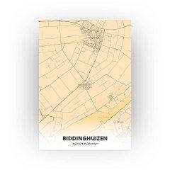 Biddinghuizen print - Antiek stijl
