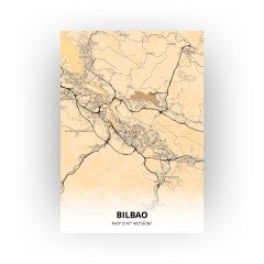 Bilbao print - Antiek stijl