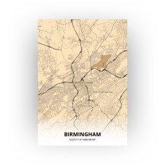 Birmingham print - Antiek stijl