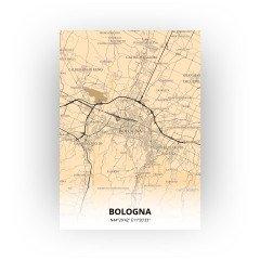 Bologna print - Antiek stijl