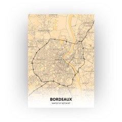 Bordeaux print - Antiek stijl