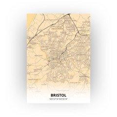 Bristol print - Antiek stijl
