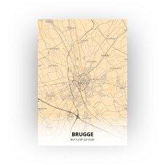 Brugge print - Antiek stijl