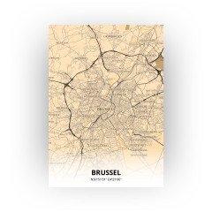 Brussel print - Antiek stijl