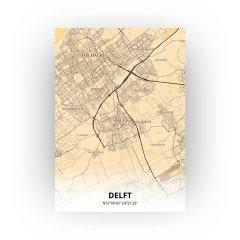 Delft print - Antiek stijl