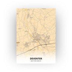 Deventer print - Antiek stijl