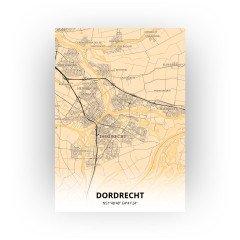 Dordrecht print - Antiek stijl