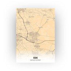 Ede print - Antiek stijl