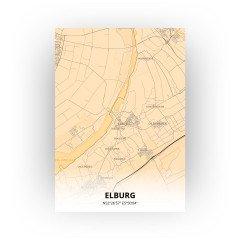 Elburg print - Antiek stijl