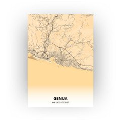 Genua print - Antiek stijl