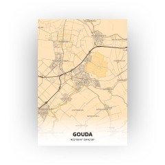 Gouda print - Antiek stijl