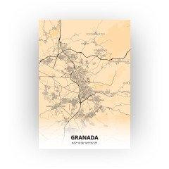 Granada print - Antiek stijl