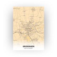 Groningen print - Antiek stijl