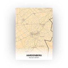 Hardenberg print - Antiek stijl