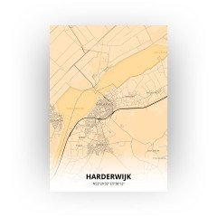Harderwijk print - Antiek stijl