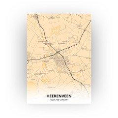 Heerenveen print - Antiek stijl