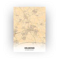 Helmond print - Antiek stijl