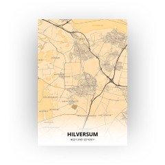 Hilversum print - Antiek stijl