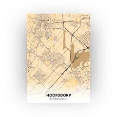 Hoofddorp print - Antiek stijl