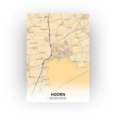 Hoorn print - Antiek stijl