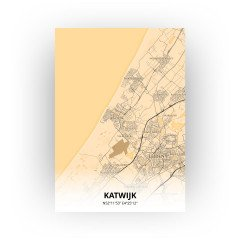 Katwijk print - Antiek stijl