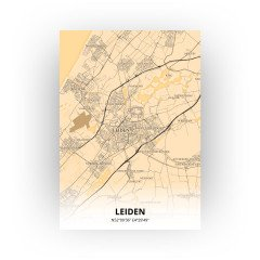 Leiden print - Antiek stijl