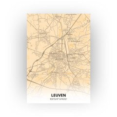 Leuven print - Antiek stijl