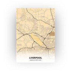 Liverpool print - Antiek stijl