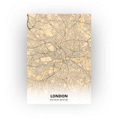 London print - Antiek stijl