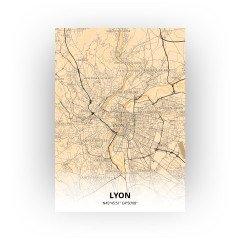 Lyon print - Antiek stijl