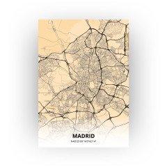 Madrid print - Antiek stijl