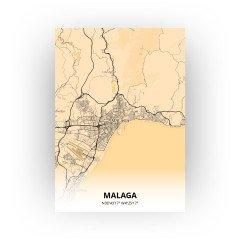Malaga print - Antiek stijl