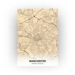 Manchester print - Antiek stijl
