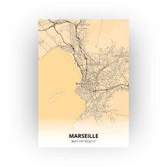 Marseille print - Antiek stijl