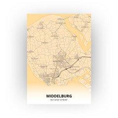 Middelburg print - Antiek stijl