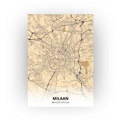 Milaan print - Antiek stijl