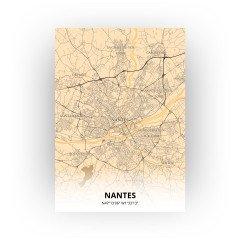 Nantes print - Antiek stijl