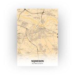 Nijmegen print - Antiek stijl