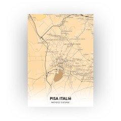 Pisa Italië print - Antiek stijl