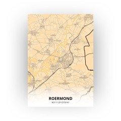 Roermond print - Antiek stijl