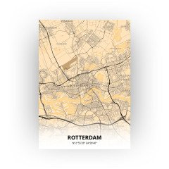Rotterdam print - Antiek stijl