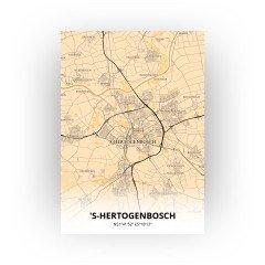 's-Hertogenbosch print - Antiek stijl