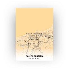 San Sebastian print - Antiek stijl