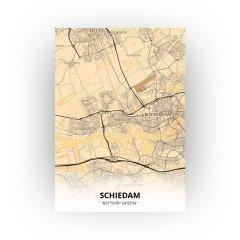 Schiedam print - Antiek stijl