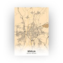 Sevilla print - Antiek stijl