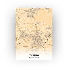 Tilburg print - Antiek stijl