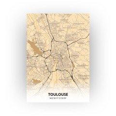 Toulouse print - Antiek stijl