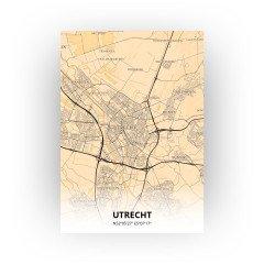 Utrecht print - Antiek stijl