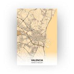 Valencia print - Antiek stijl